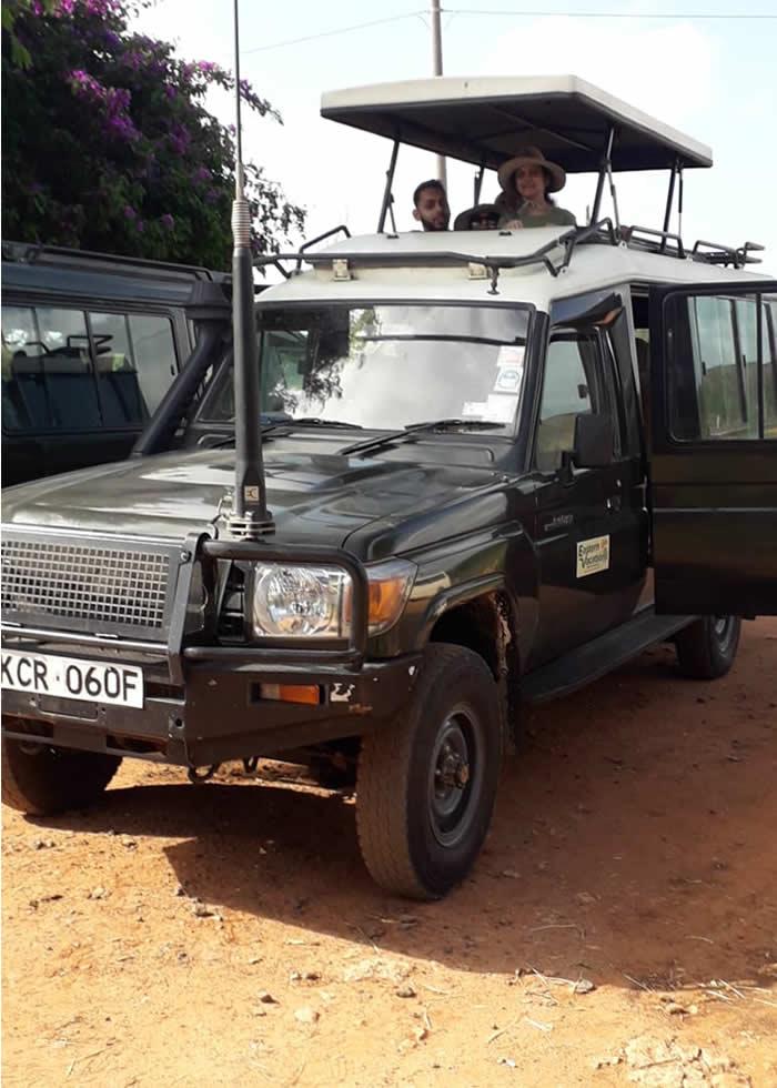 Masai Mara Safari tour - land criser transport to masai mara is now popular in Eastern Vacations
