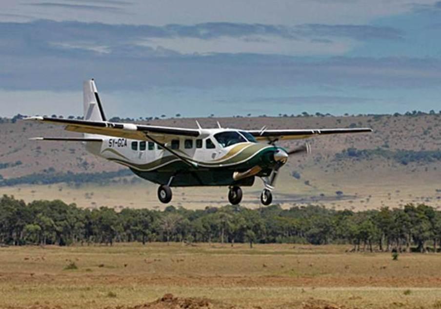 2 Days Tsavo West air safari