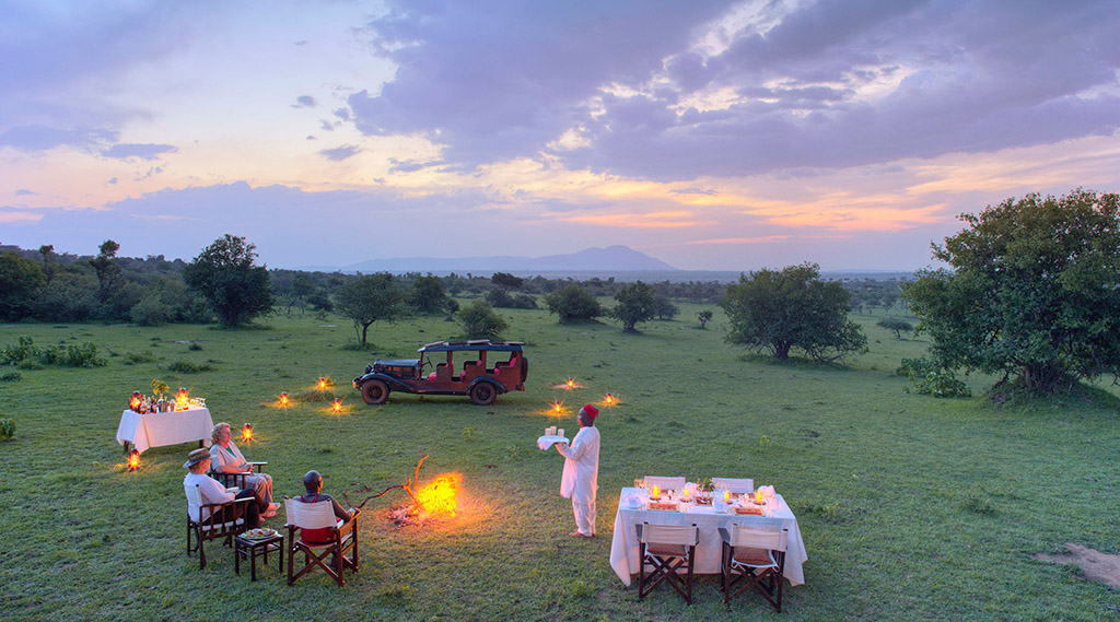 Cottar's 1920s Safari Camp offers excellent luxury accommodation in Masai Mara